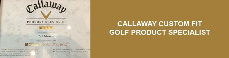 Custom Fit Callaway Gold Specialist